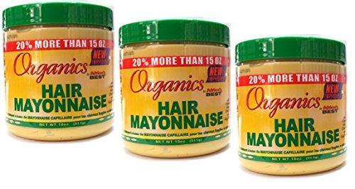 3x Africa's Best Organics HAIR MAYONNAISE 426g (insgesamt - 1,278g) -