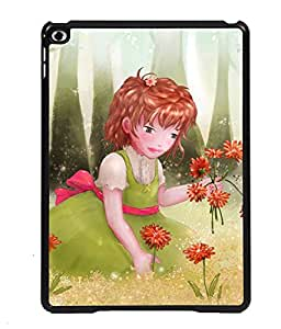 Printvisa 2D Printed Girly Designer back case cover for Apple iPad Air 2 - D4318
