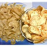 JEET Hand Made Aloo papad desi(Small Size)400grams, Suitable for upwas(Fasting) Also.