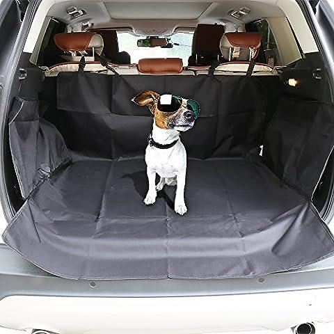 Carga Cubierta ezykoo impermeable acolchado carga maletero/Cover/alfombrillas coche diseño de perro resistente a los arañazos para SUVs Vans tamaño 41(W) X62(L)
