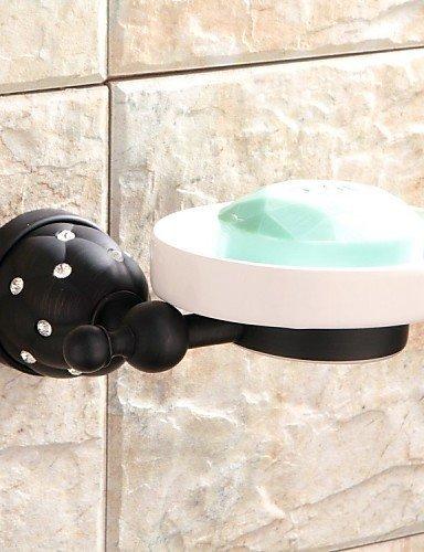 Lina @ portasapone/bagno Gadget, Modern, in bronzo, oliato montaggio a parete