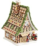 Villeroy & Boch 1486215954 Fairytale Park Casetta Panpepato, Verde, 14 x 14 x 18 cm