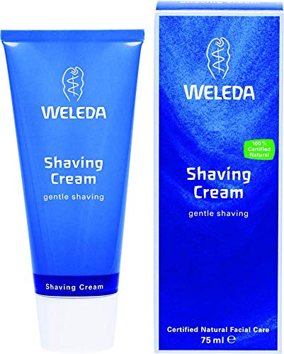 Bio-rasiercreme (WELEDA Rasiercreme, Naturkosmetik Rasierschaum für die Pflege und den Schutz der Haut bei Nassrasuren, sanfter Schaum für eine schonende Rasur für Männer (1 x 75 ml))