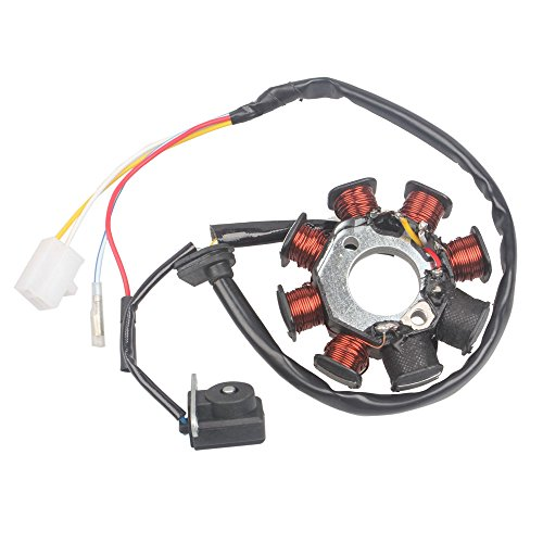 Wings Ignition Stator Magneto 8 Coil 4 Wires GY6 50 110 150cc Scooter Moped  ATV Taotao JCL