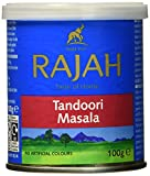 Rajah Tandoori Masala, indische Würzmischung, 6er Pack (6 x 100 g)