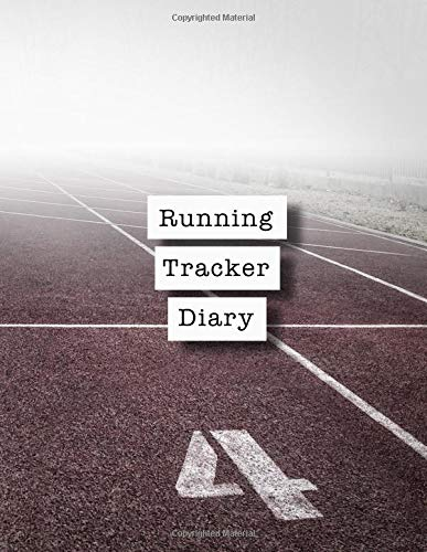 Running tracker diary: Runner planner diary for all your training logs - Track race por Sport and Exercise Journals