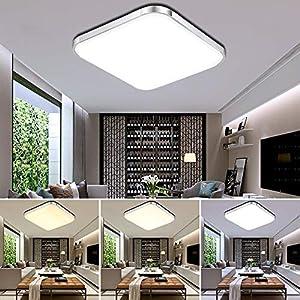 Deckenleuchte Led Wohnzimmer 65×65 günstig online kaufen | Dein ...