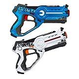 Laser Tag-Pistole als Battle-Set, 2x Laserpistolen, Duellieren, Gun, Laserspiele für Kinder, Neu...