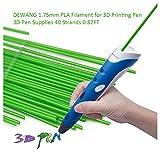 DEWANG 3D-Drucker Filament-40 Str?nge 1.75mm PLA Kunststoff f¨¹r 3D Drucker Zeichnung,Gr¨¹n
