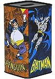 Batman Spardose Sparbüchse Motiv Arkham Knight Robin Joker Penguin Bust Bank Sparschwein