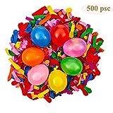 Blesser 500 PSC Wasserballon, Wasserbomben aus Latex, Spielzeug für Sommer, Wasserspiele für Kinder, Mehrfarbig