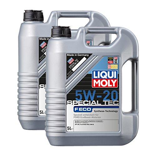 Preisvergleich Produktbild 2x LIQUI MOLY 3841 Special Tec F ECO 5W-20 Motoröl 5L