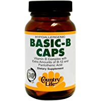 Country Life Basic-b B Complex, 90-Count