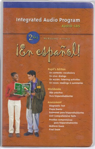 En espanol! Audio Program, Level 2 par Mcdougal Littel