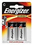 Energizer E300129500 Batterie Max Alkaline C (Baby/LR14/E93 2er-Packung)