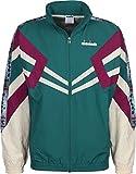 Diadora Sport Herren 502173618 MVB Laufjacke, Verde Smeraldo, XL