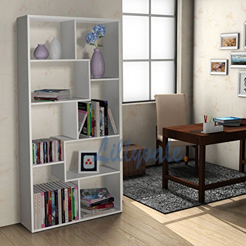 black display units for living room white black bookcase rack display unit rack storage office 27007