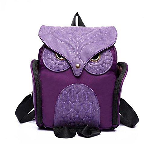 femmes-femmes-leather-owl-backpack-sac-decole-mochila-escolar-pour-filles-violet