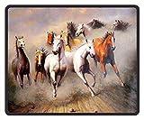 Gaming Mauspad Pferd Running Ölgemälde Mauspad