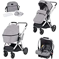 For-Your-Little-One Travel System, Light Grey