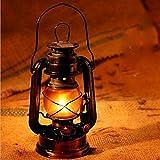 Lámpara De Linterna De Keroseno De Huracán Lámpara De Aceite Nostálgico Lámpara De Camping...