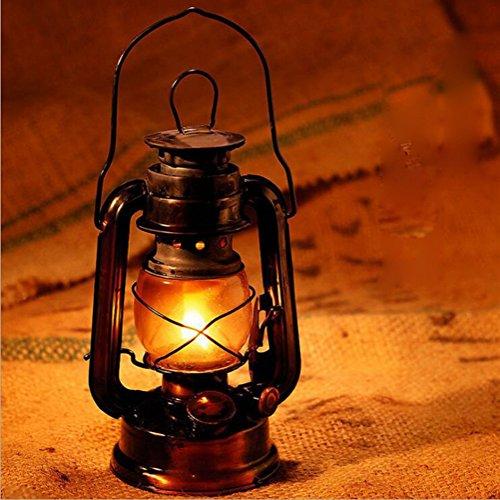 Inconnu Hurricane Kérosène Lanterne Lampe Nostalgique Lampe À Huile Camping en Plein Air Portable Lampe