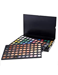 ACEVIVI Professional Cosmetics Makeup 180 Colors Matte and Shimmer Eye Shadow Palette Kit Set