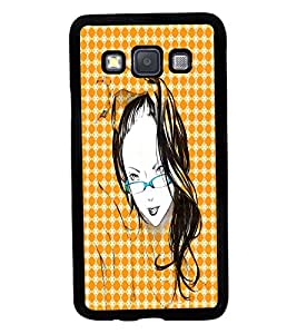 Fuson 2D Printed Girly Designer back case cover for Samsung Galaxy A3 A300F - D4575