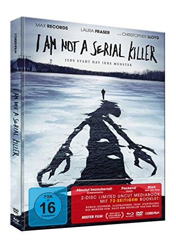 I am not a serial Killer - Uncut Mediabook (Blu-ray + DVD) (Limited Edition)
