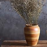 XHZJ Trois Formes en céramique comptoir Pot de Fleur, épaisse Terre Cuite Antique Style méditerranéen Villa Jardin Pot Succulent Pot de Fleur, Grand Pot de Fleur créative Vieille céramique