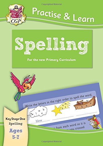 Practise & Learn: Spelling (ages 5-7) Cover Image