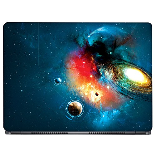 Crazyink Galaxy Planet Art Laptop Skin (15 to 15.6 inch)