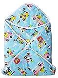 #6: MY NEWBORN® Baby wrapper 100% cotton Hooded Blanket