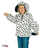 Dalmatinerkostüm Kinderkostüm Dalmatiner Karneval Tierkostüm Hundekostüm Gefleckt Wau Wau Kostüm für Kinder (116)