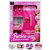 Modern Kitchen Play Set With Light And Sound (Random Models) (Barbie Kitchen Set)