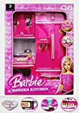 Best Barbie Play Kitchens - Jack Royal Modern Barbie Kitchen Play Set Review