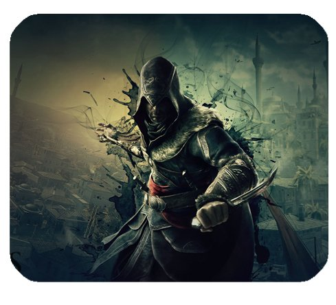 Ezio Assassin S Creed Revelations Mousepad Personalisierte Custom Mauspad Oblong Geformte in 25x 20cm Gaming Maus Pad/Matte