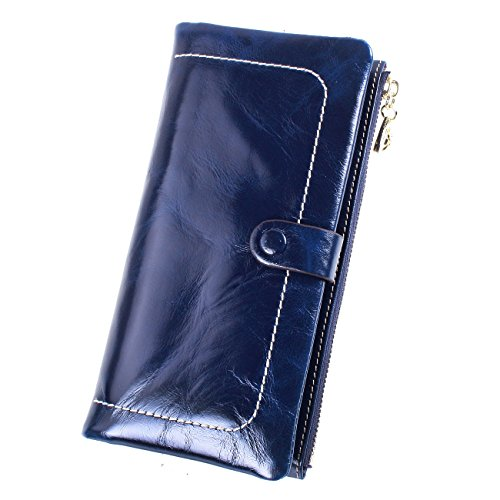 itslife-da-donna-olio-cera-portafoglio-in-pelle-design-casual-blu-blue-taglia-unica