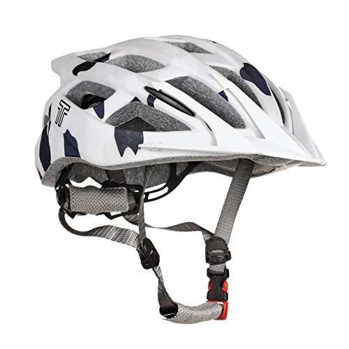 Raleigh Tyr Unisex Adult Trail And Mountain Bike Cycling Helmet,Grey,52-56 Cm