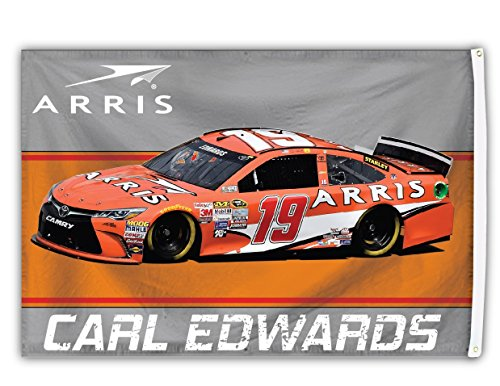 FanNut.com Carl Edwards # 19 2016 3 x 5 Auto Design Flagge Tüllen W/Outdoor Banner Nascar Racing 3x5 Auto