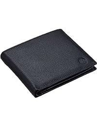 Volkswagen 000087400F041 Geldbörse für Herren mit 6 Kartenfächern, schwarz