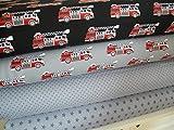 Lottashaus Jersey no69 Stoffpaket 4 Stück 50x70cm