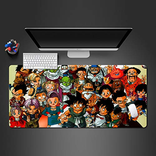 800 * 300 * 3 Mm Zeichen Big Set Mousepad Spiel Player'S Game Pad Laptop Tastatur Mousepad Schreibtisch Matten Jungen Halloween Weihnachtsgeschenk
