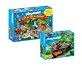 PLAYMOBIL® 4162 - Adventskalender Dino Expedition und 4846 - Schatzräuber Kettenraupe