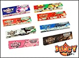 JUICY JAYS 5 confezioni da misto aromi Juicy Jay GRANDE CARTINE - Multicolore