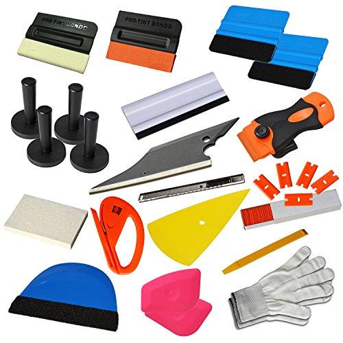 Preisvergleich Produktbild Ehdis Neue Upgrade Vinyl Wrap Tools Set Kits Auto Fenster Tönung Film Applikator für Automotive Wrapping Decals DIY Interieur