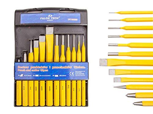 Werkzeugsatz Körner Meißel Splinttreiber Durchschläger Durchtreiber 12 (PRZ-12)