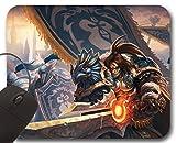Varian Wrynn Mousepad WOW - World of Warcraft Alfombrilla de Ratón