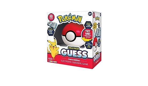 Boti Pok/émon Electronic Guessing Game Trainer Guess Kanto Edition *English Version*