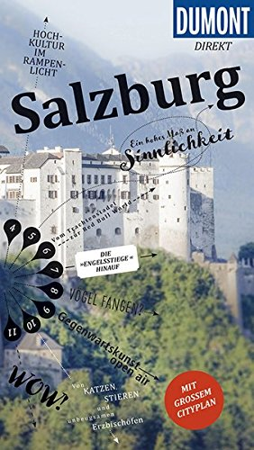 Preisvergleich Produktbild DuMont direkt Reiseführer Salzburg: Mit großem Cityplan